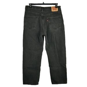 Levis 550 Relaxed Fit Straight Leg Jeans 36x30